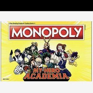 MY HERO ACADEMIA EDITION MONOPOLY BOARD GAME